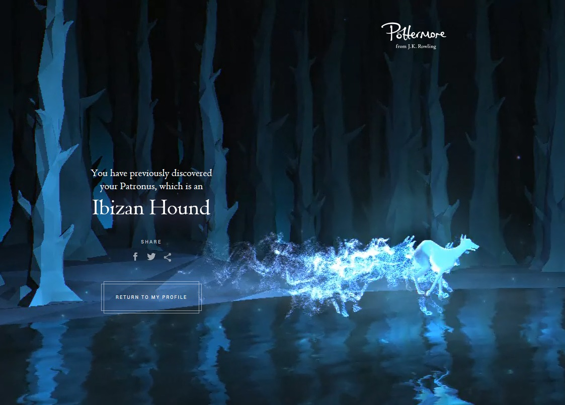 Which Patronus Did You Get