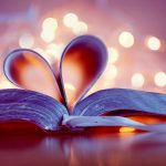Beautiful-Love-Heart-On-The-Book-Wallpaper-HD