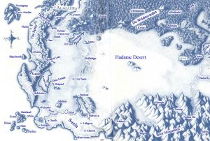 Riveted - Maps - Alagaesia from Eragon