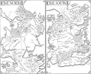 Riveted - Maps - Game of Thrones