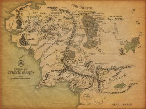 Riveted - Maps - Middle Earth