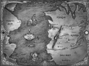 Riveted - Maps - Six of Crows pt. 1