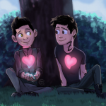 Our Favorite Fan Art of Magnus and Alec from the Shadowhunters Books